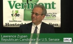 Meet The Candidate: Lawrence Zupan (R ) U.S. Senate