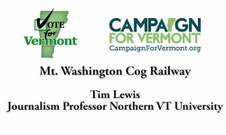 Vote for Vermont: Mount Washington Cog Railway