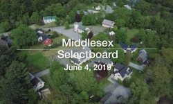 Middlesex Selectboard - June 4, 2019