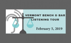 Vemont Bench and Bar Listening Tour - February 5, 2019