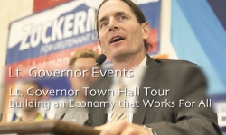 Lt. Governor Events - Lt. Governor Town Hall Tour: Building n Economy that Works For All