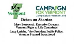 Vote for Vermont - Abortion Debate