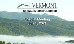 Cannabis Control Board - Special Meeting July 1, 2021 [CCB]