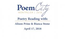 Poem City - Alison Prine & Bianca Stone 2018