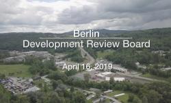 Berlin Development Review Board - April 16, 2019