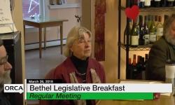 Legislative Breakfast in Bethel - March 26, 2018 - Sandy Haas