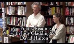 Bear Pond Books Events - Poetry Reading with Jody Gladding & David Hinton