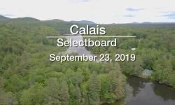 Calais Selectboard - September 23, 2019