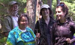 Moccasin Tracks - Water is Life Walks Housatoni River 2018