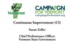 Vote for Vermont: Continuous Improvement with Susan Keller