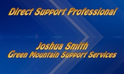 Abled and on Air: Direct Support Professional, Joshua Smith, GMSS