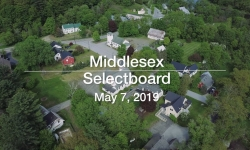 Middlesex Selectboard - May 7, 2019