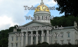 Bill Doyle on Vermont Issues - Wanda Baril: Rotary Club's 2018 Citizen of the Year