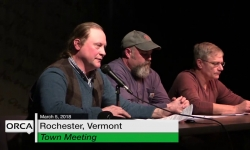 Rochester Town Meeting -  March 5, 2018