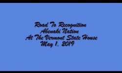 Moccasin Tracks - Road to Recognition - Abenaki Nation at the Vermont State House