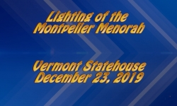 Abled and on Air: Montpelier Menorah Lighting 2019