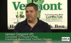 Meet The Candidate: James Gregoire, (R) House of Rep., Franklin-6: Bakersfield, Fairfield, Fletcher