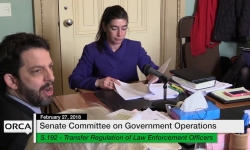 Vermont State House: S.192 Transfer Regulation S.281 - Systemic Racism Mitigation 2/27/18