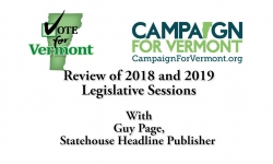Review of  2018 and 2019 legislative Sessions with Guy Page