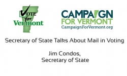 Vote for Vermont: Jim Condos