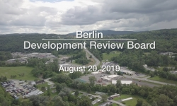Berlin Development Review Board - August 20, 2019