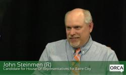 Meet The Candidate: John Steinmen (R), House of Representatives, Barre City