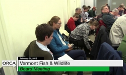 Vermont Fish & Wildlife Board Meeting - February 21, 2018