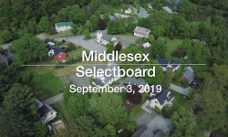 Middlesex Selectboard - September 3, 2019