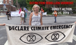Extinction Rebellion - Direct Action/ PUC Hearing July 23, 2019