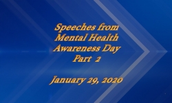 Abled and on Air: Speeches from Mental health Awarness Day 2020 Part 2