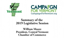 Vote for Vermont: Summery of the 2019 Legislative Session, William Moore