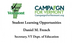 Vote for Vermont:  Student Learning Opportunities