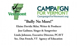 Vote for Vermont: Bully No More