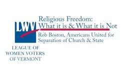 Spotlight on Vermont Issues:  Religious Freedom