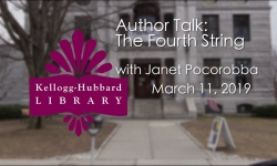 Kellogg Hubbard Library - The Fourth String with Janet Pocorobba