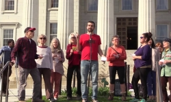 May Day Rally - May 1, 2018 - Montpelier