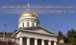 Governor's Workforce Equity & Diversity Council - December 11, 2018