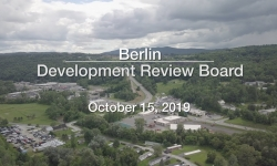 Berlin Development Review Board - October 15, 2019