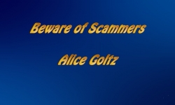 Abled and on Air: Beware of Scammers