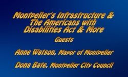 Abled and on Air: Montpelier's Infrastructure