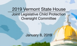 Vermont State House - Children in Need of Care & Supervision (CHINS) Reform Work Group 1/8/19