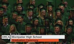 Montpelier High School Graduation 2017