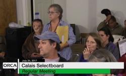 Calais Selectboard - Friends Of Mirror Lake Public Forum
