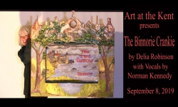 "Delia Robinson - ""Binnorie"" Crankie at the Kent Museum"