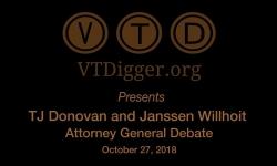 VT Digger Presents Attorney General Debate 10/27/18