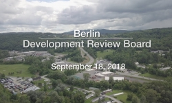 Berlin Development Review Board - September 18, 2018