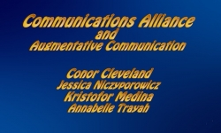 Abled and on Air - Communication Alliance 2