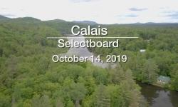 Calais Selectboard - October 14, 2019