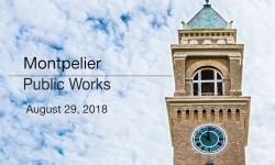 Montpelier Public Works - August 29, 2018