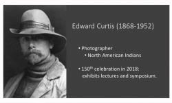 Marna Murray Presents Edward Curtis Photography